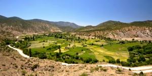 Kıbrıscık Yolu Sapağı – Yuva Köyü – Çeltikdere – Davutoğlan Köyü – Nallıhan Kuş Cenneti Doğal Bisiklet Parkuru