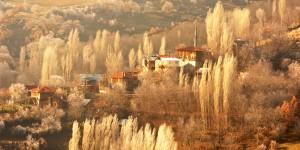 Dereboyu Köyü'ne Yansıyan Işık