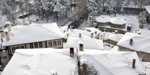 Göynük Çatılarında Kış