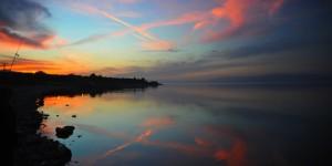 İznik Gölü'nde Büyülü Günbatımları -16