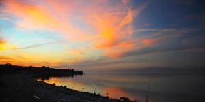 İznik Gölü'nde Büyülü Günbatımları -7