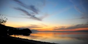İznik Gölü'nde Büyülü Günbatımları -9