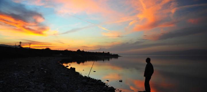 İznik Gölü'nde Büyülü Günbatımları -12