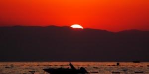 Akdeniz'de Güne Veda