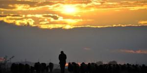 Iğdır Ovası'nda Güne Veda