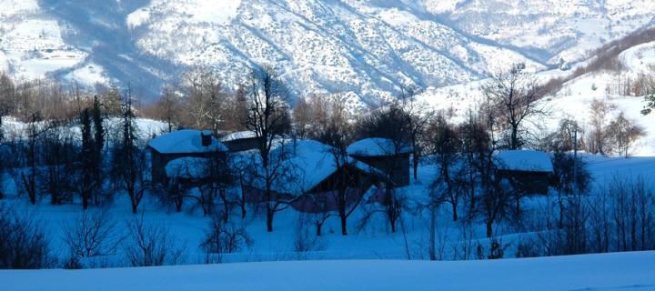 Samanlı Dağları'nda Sessiz Kış
