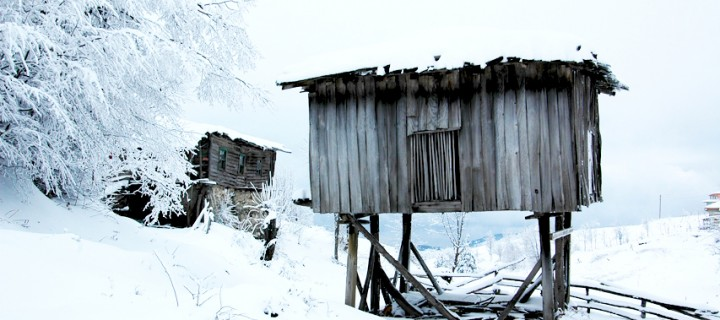 Samanlı Dağları'nda Karadeniz Mimarisi