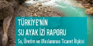 Türkiye'nin Su Ayak İzi Raporu