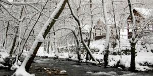 Kirazdere Vadisi'nde Kış