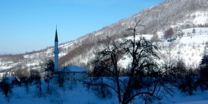 Servetiye Köyü'nde Kış