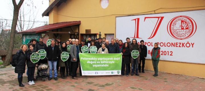 Polonezköy İçin Köylüler ve Sivil Örgütler Bir Araya Geldi