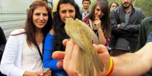 Aras Nehri Kuş Cenneti'nde Dünya Göçmen Kuşlar Günü Kutlandı