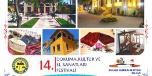 14. Buldan Dokuma, Kültür ve El Sanatları Festivali