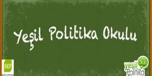 'Gülümseyen Bir Bugün İçin Yeşil Politika'
