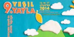9. Yeşil Yayla Kültür, Sanat ve Çevre Festivali Başlıyor