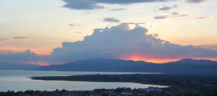 İznik Gölü'nde Büyülü Günbatımları -19