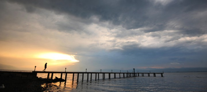 İznik Gölü'nde Büyülü Günbatımları -21