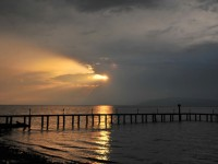 İznik Gölü'nde Büyülü Günbatımları -36
