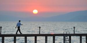 İznik Gölü'nde Büyülü Günbatımları -29