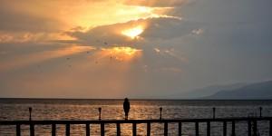 İznik Gölü'nde Büyülü Günbatımları -32