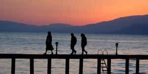 İznik Gölü'nde Büyülü Günbatımları -27