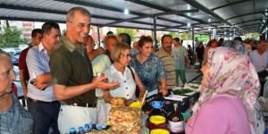 Mersin'de Kadın Üreticiler Pazarı Açıldı