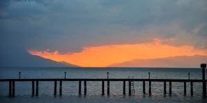 İznik Gölü'nde Büyülü Günbatımları -45
