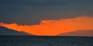 İznik Gölü'nde Büyülü Günbatımları -46
