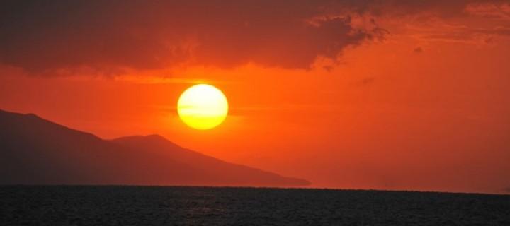 İznik Gölü'nde Büyülü Günbatımları -54