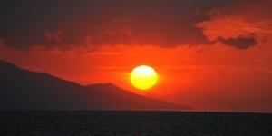 İznik Gölü'nde Büyülü Günbatımları -58