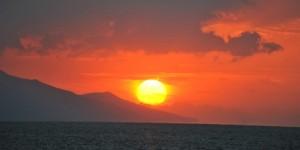 İznik Gölü'nde Büyülü Günbatımları -60