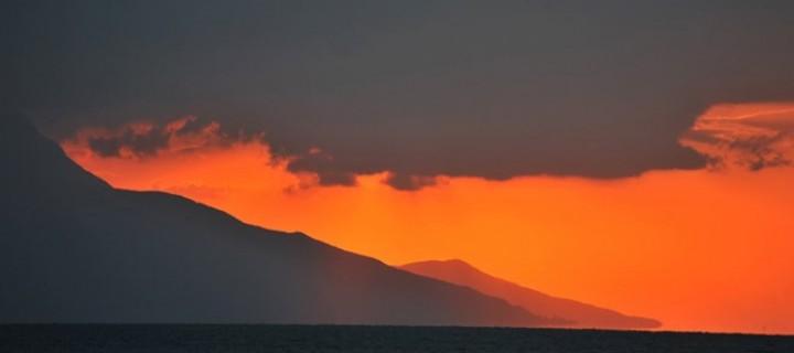 İznik Gölü'nde Büyülü Günbatımları -47