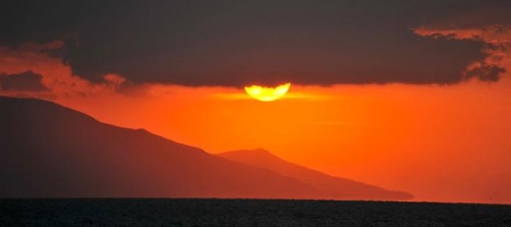 İznik Gölü'nde Büyülü Günbatımları -49