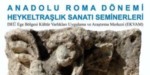 EKVAM'dan, Anadolu Roma Dönemi Heykeltıraşlık Sanatı Seminerleri