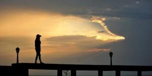 İznik Gölü'nde Günbatımı