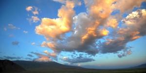 Ağrı Dağı'nda Yanan Bulutlar