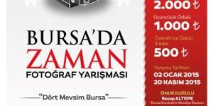'Bursa'da Zaman' Fotoğraf Yarışması