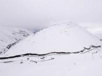 Tırnik Geçidi'nde Kar
