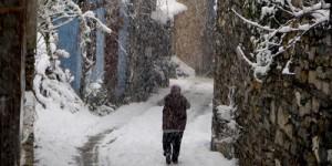 Cumalıkızık'ta Yılın İlk Karı -35