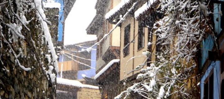 Cumalıkızık'ta Yılın İlk Karı -29