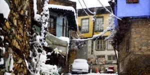 Cumalıkızık'ta Yılın İlk Karı -30