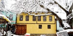 Cumalıkızık'ta Yılın İlk Karı -34