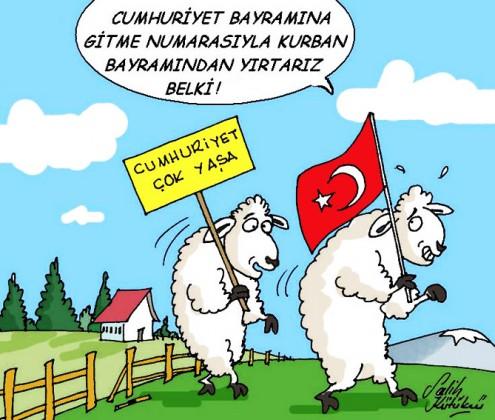 cumhuriyet bayrami