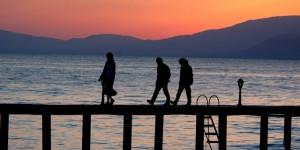 İznik Gölü'nde Büyülü Günbatımları -69