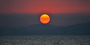 İznik Gölü'nde Büyülü Günbatımları -68