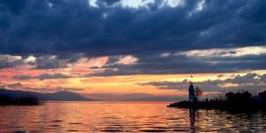 İznik Gölü'nde Büyülü Günbatımları -70