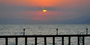 İznik Gölü'nde Büyülü Günbatımları -84