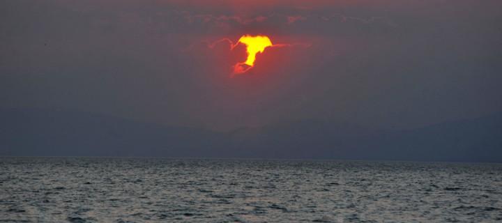 İznik Gölü'nde Büyülü Günbatımları -86