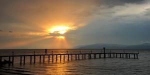 İznik Gölü'nde Büyülü Günbatımları -88