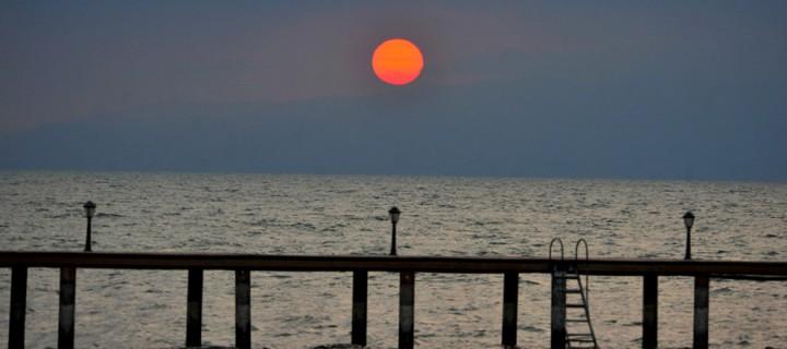 İznik Gölü'nde Büyülü Günbatımları -91